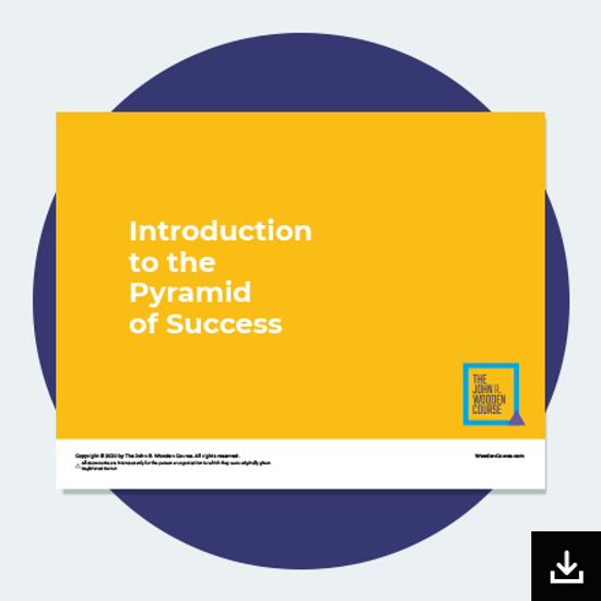 Picture of Introduction to the Pyramid of Success